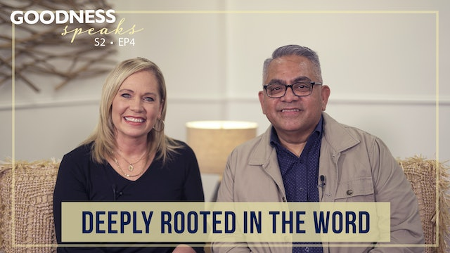 """""""Deeply Rooted in the Word"""" on Goodness Speaks with Rachelle Fletcher"""