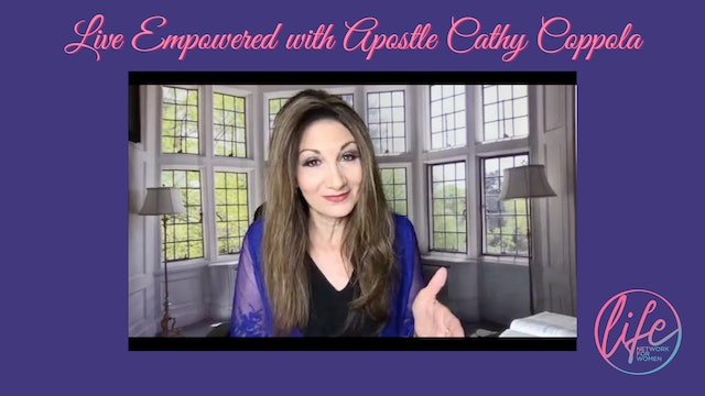 """""""Committing and Decreeing!"""" on Live Empowered with Apostle Cathy Coppola"""
