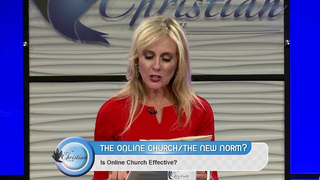 """Online Church, the New Normal?"" on T..."