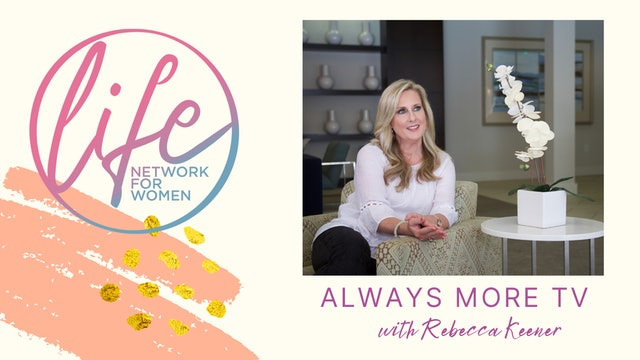 """""""What Does it Mean to be Holy?"""" on Always More TV with Rebecca Keener"""