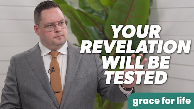 """""""Your Revelation Will Be Tested"""" on G..."""