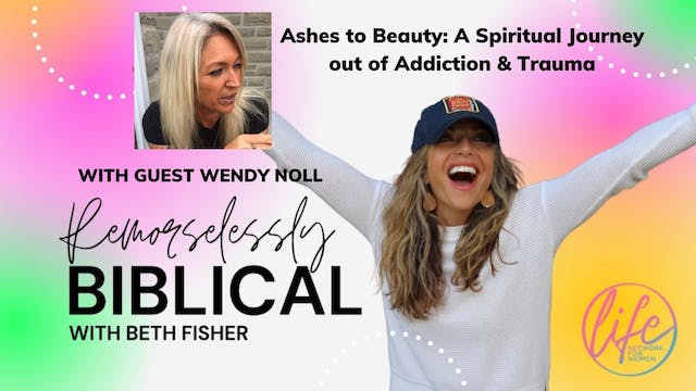 """""""Ashes to Beauty: A Spiritual Journey..."""