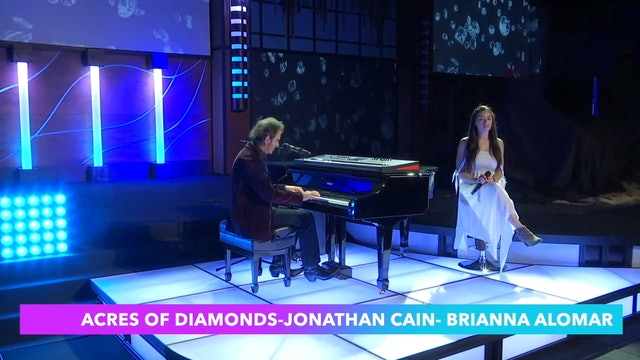 """""""ACRES OF DIAMONDS Video"""" Jonathan Cain and special guest Brianna Alomar"""