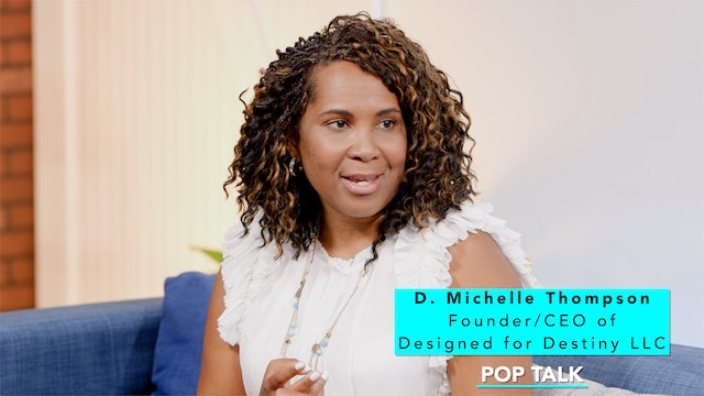 Pop Talk with D. Michelle Thompson