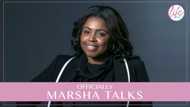 """""""You Can't Grow Up Unless You Get Past The Pain"""" on Officially Marsha Talks"""