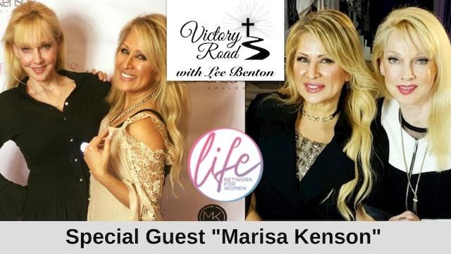 VICTORY ROAD with Lee Benton: Fashion Designer Marisa Kenson
