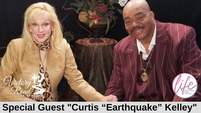 """VICTORY ROAD with Lee Benton: Curtis """"Earthquake"""" Kelley"""