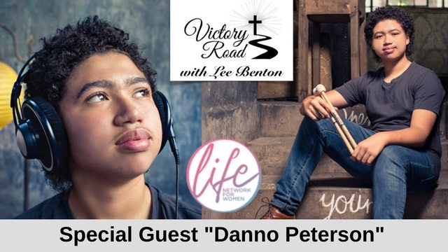 """VICTORY ROAD with Lee Benton: Drummer Daniel """"Danno"""" Peterson"""