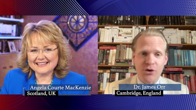 Angela Courte MacKenzie with special guest Dr. James Orr