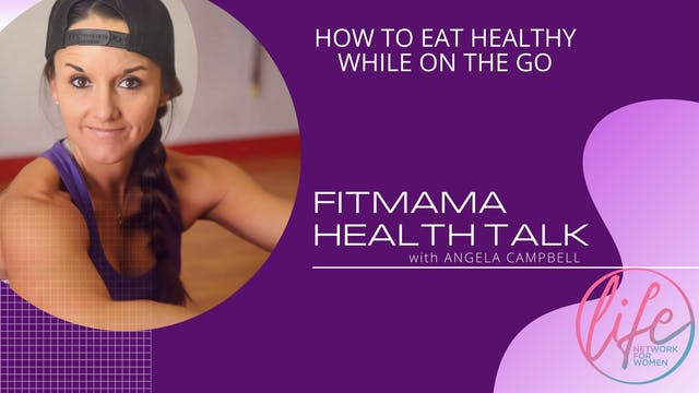 """How to Eat Healthy While on the Go"""" o..."""