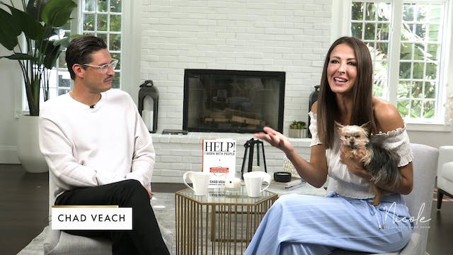 """Nicole Crank and guest Chad Veach """" H..."""