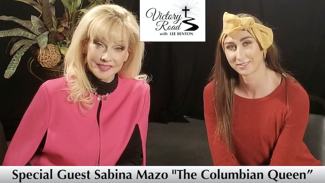 VICTORY ROAD with Lee Benton: World Famous Female Boxer, Sabina Mazo