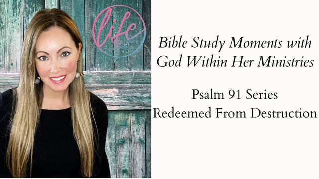 """Redeemed From Destruction"" on Bible ..."