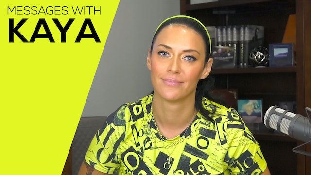 """Spiritual Battles"" on Messages with Kaya"