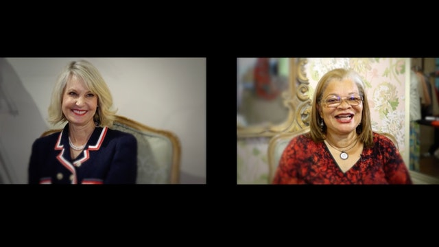 Ginger Howard and Alveda King