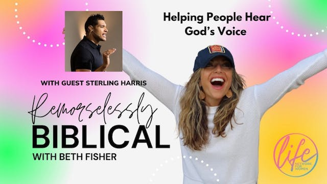 """""""Helping People Hear God's Voice: Ste..."""