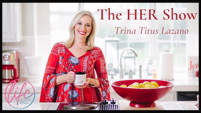 """Napkin Folding & Kitchen Organization"" on The HER Show with Trina Titus Lozano"