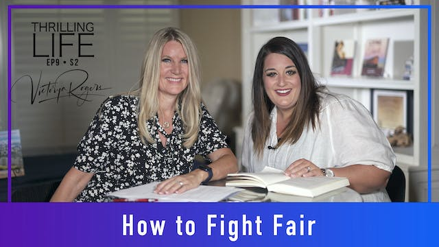 """""""How to Fight Fair"""" on Living the Thr..."""