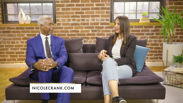 Nicole Crank and Bishop Dale C Bonner...