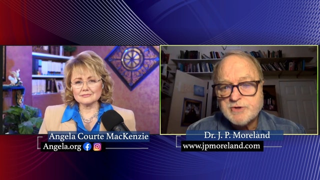Angela Courte Mac Kenzie with guest Dr JP Moreland