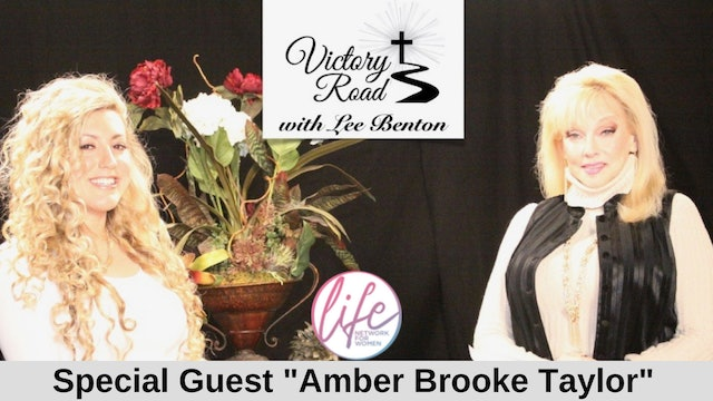 VICTORY ROAD with Lee Benton: Singer/Songwriter Amber Brooke Taylor