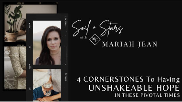 """4 Cornerstones to Having Unshakeable..."