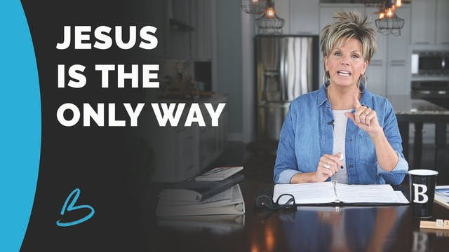 """Beth Jones """"Jesus Is The Only Way"""""""