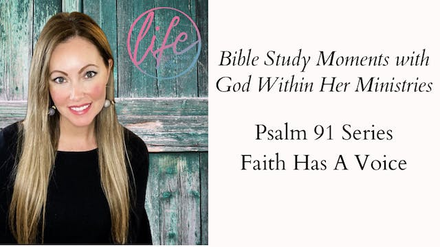 """ Faith Has A Voice"" on Bible Study M..."