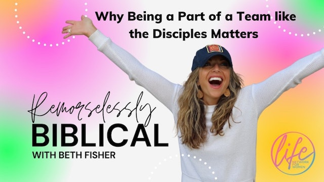 """Why Being Part of a Team like the Disciples Matters""on Remorselessly Biblical"