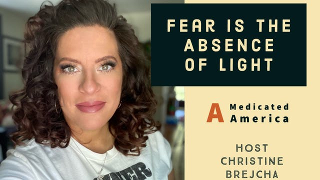 """""""Fear is the Absence of Light"""" on Chr..."""