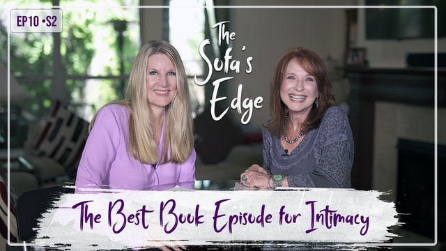 """""""The 'Best Book' Episode for Intimacy"""" on The Sofa's Edge"""