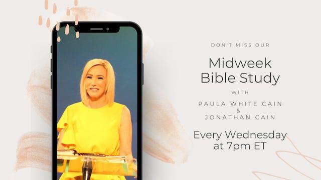 Midweek Bible Study with Pastor Paula...