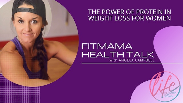 """""""The Power of Protein"""" on FITMAMA HEALTHTALK"""