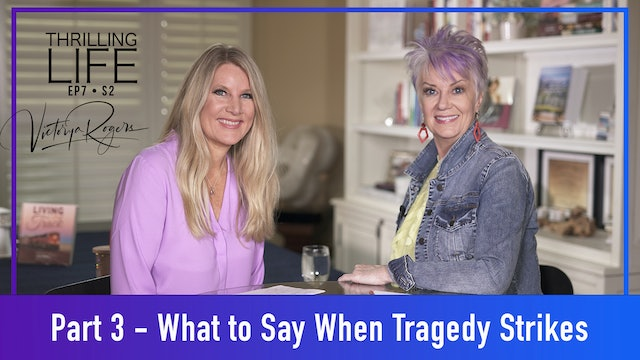 """""""When Tragedy Strikes - Part 3"""" on Living the Thrilling Life"""