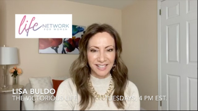 """""""Make Daily Decisions with God"""" on The Victorious Life with Lisa Buldo"""