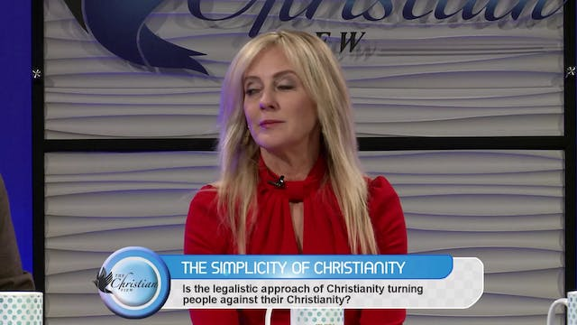 """The Simplicity of Christianity"" on T..."