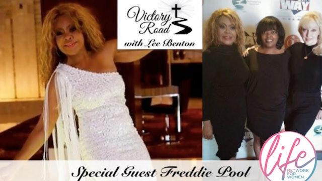 VICTORY ROAD with Lee Benton: Singer Freddie Poole (The Supremes)