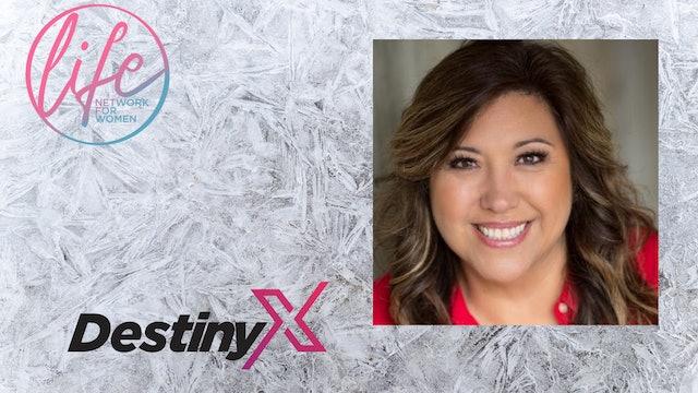 """Overcoming Addiction"" and ""Self Esteem"" on DestinyX with Destiny Yarbrough"