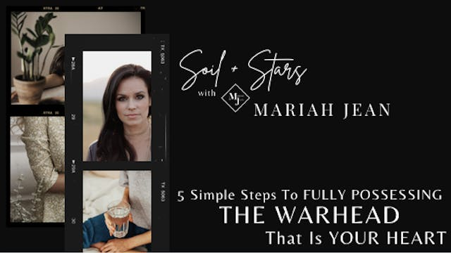"""""""5 Simple Steps To Fully Possessing T..."""