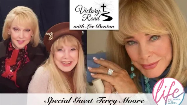 VICTORY ROAD with Lee Benton: Oscar-Nominated Actress Terry Moore