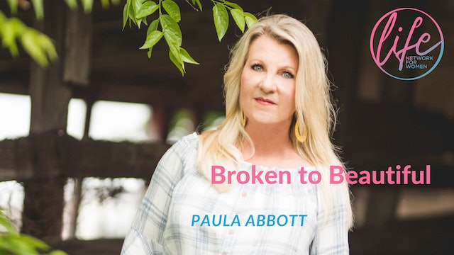 """In His Presence"" on Broken to Beautiful with Paula Abbott"