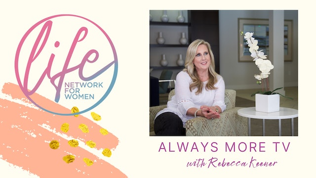 """""""The Holy Spirit Poured Out"""" on Always More TV with Rebecca Keener"""
