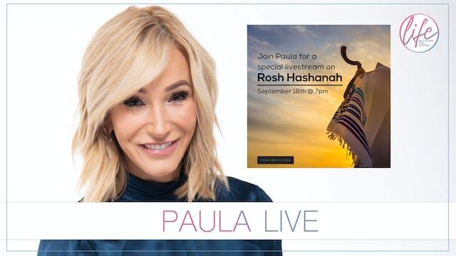 Paula Live, Rosh Hashanah 5781