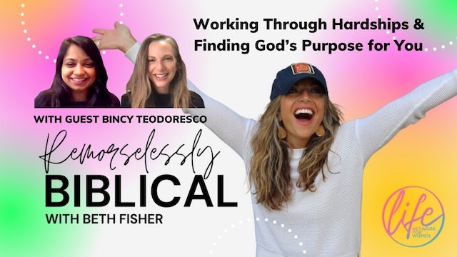 """Working Through Hardships & Finding God's for you Purpose"""