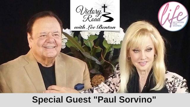 VICTORY ROAD with Lee Benton: Actor Paul Sorvino and Wife, Dee Dee Sorvino