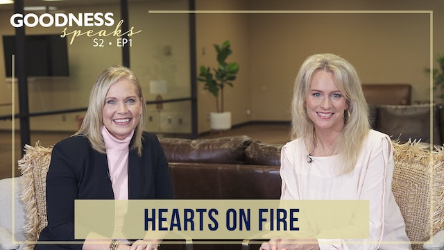 """Hearts on Fire"" on Goodness Speaks with Rachelle Fletcher"