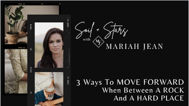 """""""3 Ways To Move Forward When Between ..."""