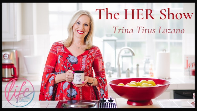 """""""P is for Peace"""" on The HER Show with Trina Titus Lozano"""