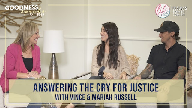 """""""Answering the Cry for Justice"""" on Goodness Speaks"""
