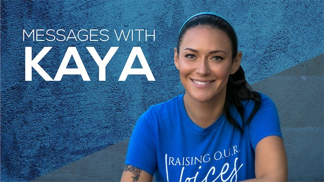 """Music, Standards, and Faith"" on Messages with Kaya"